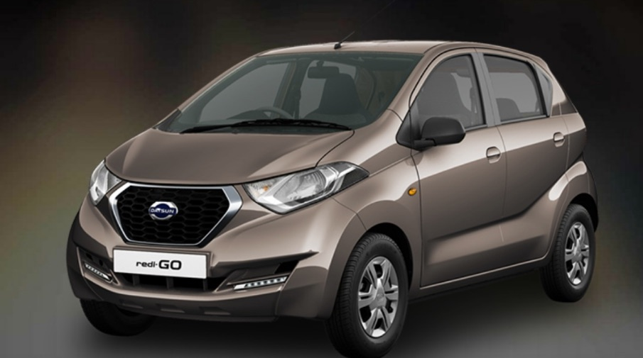Datsun RediGO Bronze color