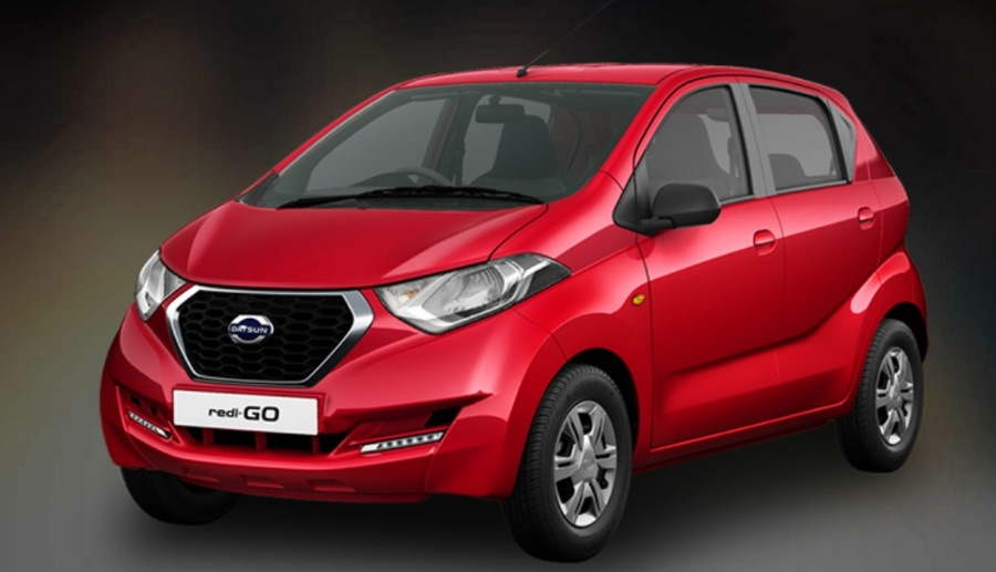 Datsun Redi GO in Red Color