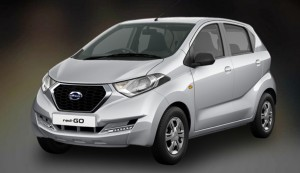 Datsun Redi GO in Silver Color