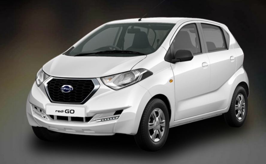 Datsun RediGO White Color
