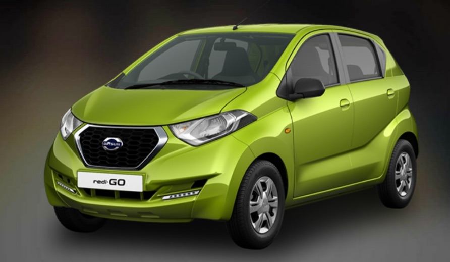 Datsun Redi GO Green Color