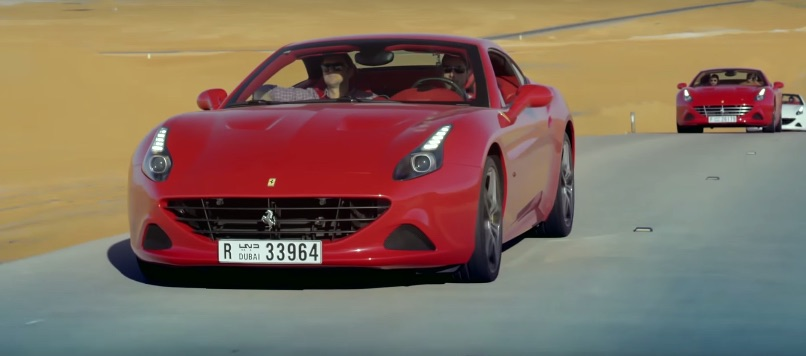 Ferrari California T Desert Shot