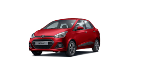 Hyundai Xcent Red Passion Color