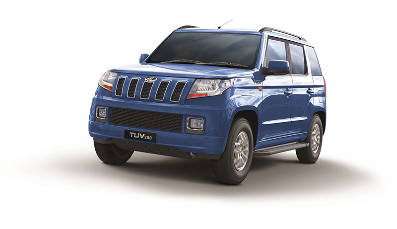 Mahindra TUV300 100 Bhp power
