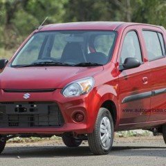 This is How the new Maruti Alto 800 Facelift looks like (2016)