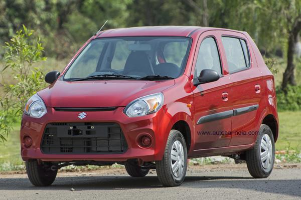 This Is How The New Maruti Alto 800 Facelift Looks Like 2016