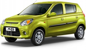 Maruti-Alto800-Mojito-Green-Color