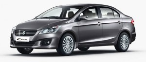 Maruti Ciaz Metallic Glistening Grey Color