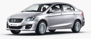 Maruti Ciaz Metallic Silky Silver Color