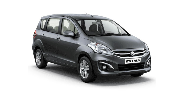 Maruti Ertiga Grey Color - Granite Grey Color