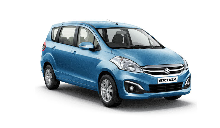 Maruti Ertiga Blue Color