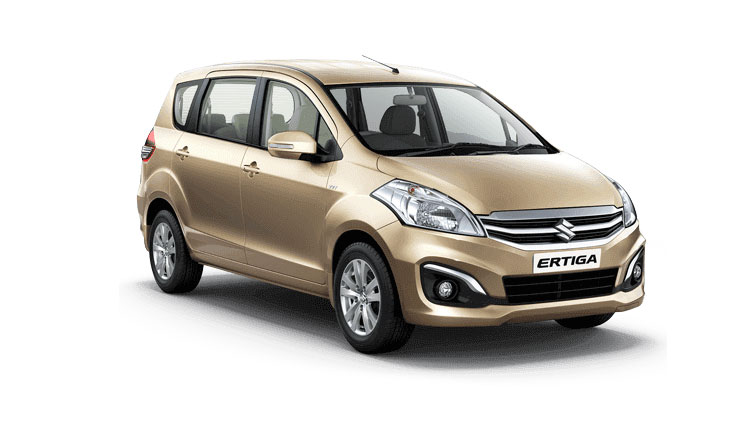 Maruti Ertiga Biege or Brown Color ( Radiant Beige Color)