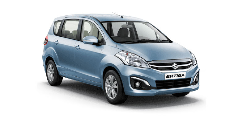 Maruti Ertiga Blue Color - Serene Blue Color