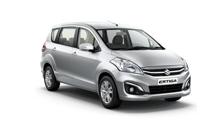 Maruti Ertiga Silver Color ( Silky Silver Color)