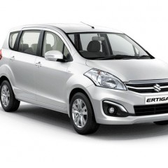 Maruti Ertiga Colors – Blue, White, Silver, Grey, Beige
