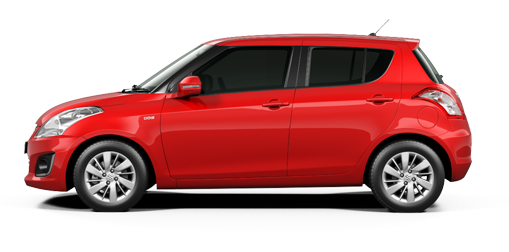 Maruti Swift Red Color - Fird Red Color Variant