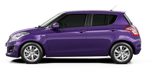 Maruti Swift Mysterious Violet Color - Maruti Swift Violet Color