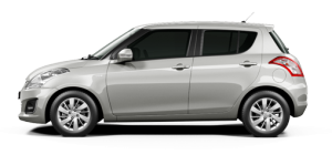 Maruti Swift Silky Silver Color