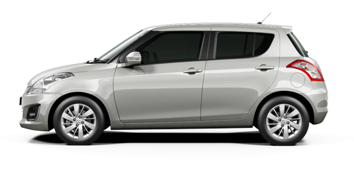 Maruti Swift Silver Color- Maruti Swift Silky Silver Color Variant