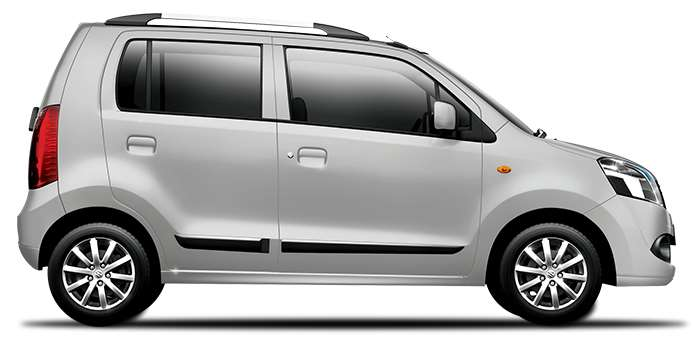 Maruti WagonR in Silky Silver Color