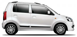 Maruti WagonR Super White Color