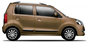 Maruti Wagonr Bakers chocolate color