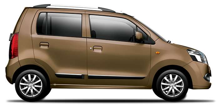 Maruti Wagon R Chocolate Color ( Bakers Chocolate Color)