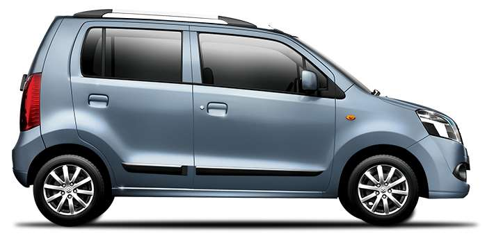 Maruti Wagonr Breeze Blue Color