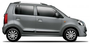 Maruti Wagonr Glistening Grey Color