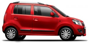 Maruti Wagonr Passion Red Color
