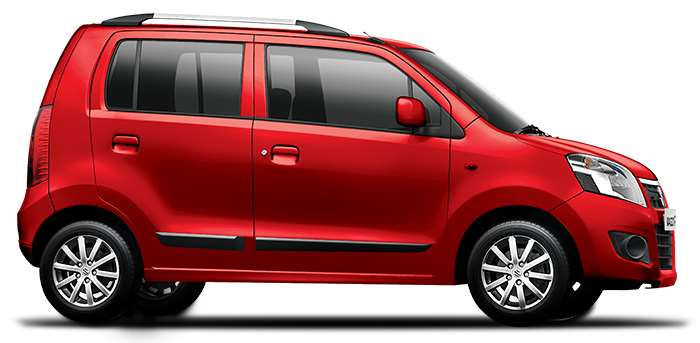 Maruti Wagon R Red Color ( Red Passion)