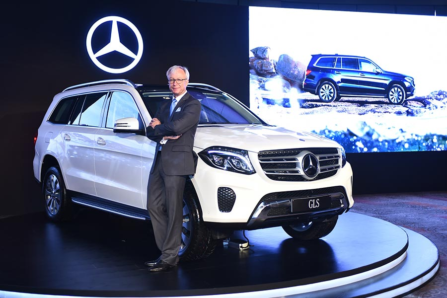 Mercedes-Benz GLS 350d India Launch