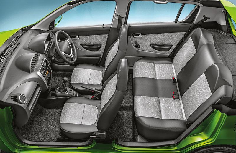 New-Maruti-Alto-800-Facelift-Seats-and-Interiror