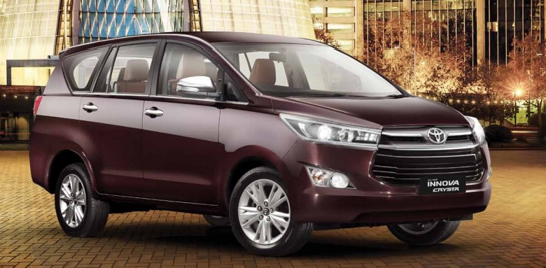 New Toyota Innova Crysta Photo