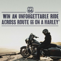 Harley-Davidson offers Legendary Route 66 Tour for New Big Twin Owners