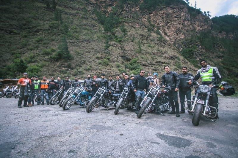 Harley Davidson HOG Ride