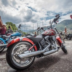 Harley Davidson riders from India rides through Bhutan on 3rd International H.O.G Ride