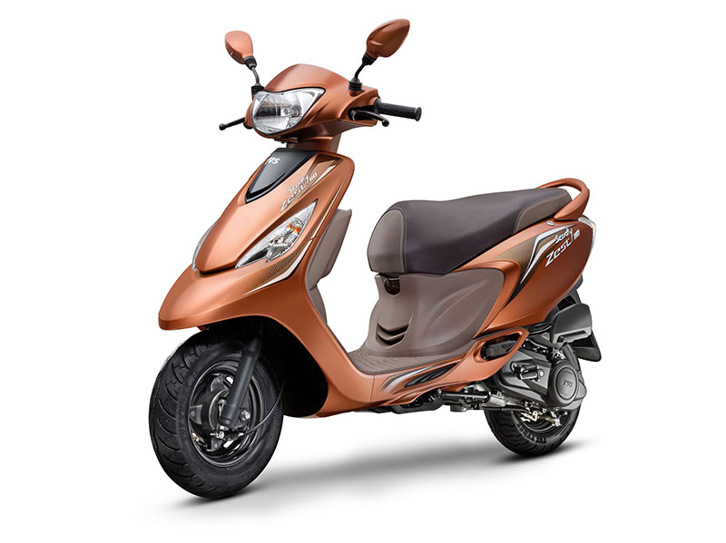 TVS Zest Himalayan High Brown