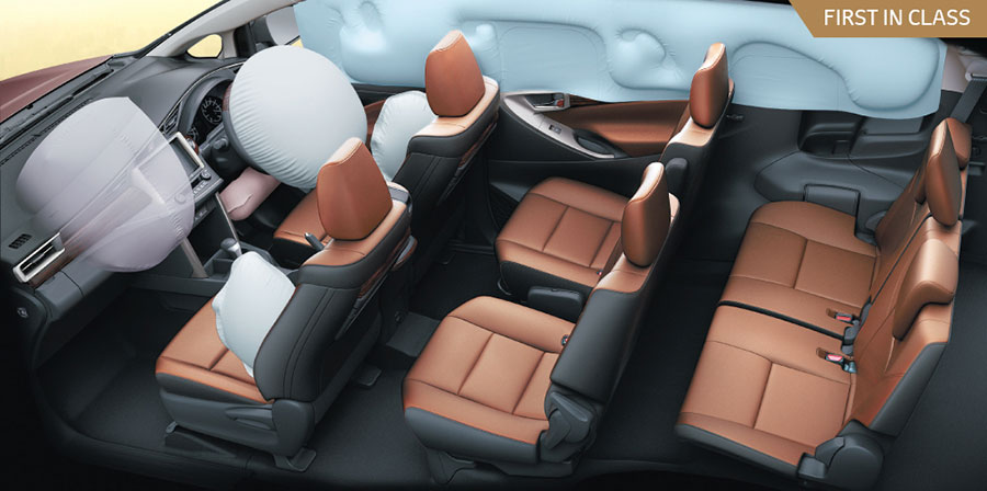Toyota-Innova-Crysta-7-SRS-Airbags---Safety-Features
