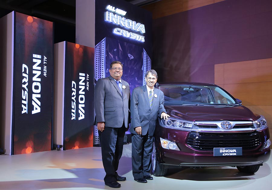 Toyota Innova Crysta launched in Mumbai