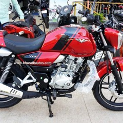 Bajaj V15 Cocktail Wine Red Color Introduced