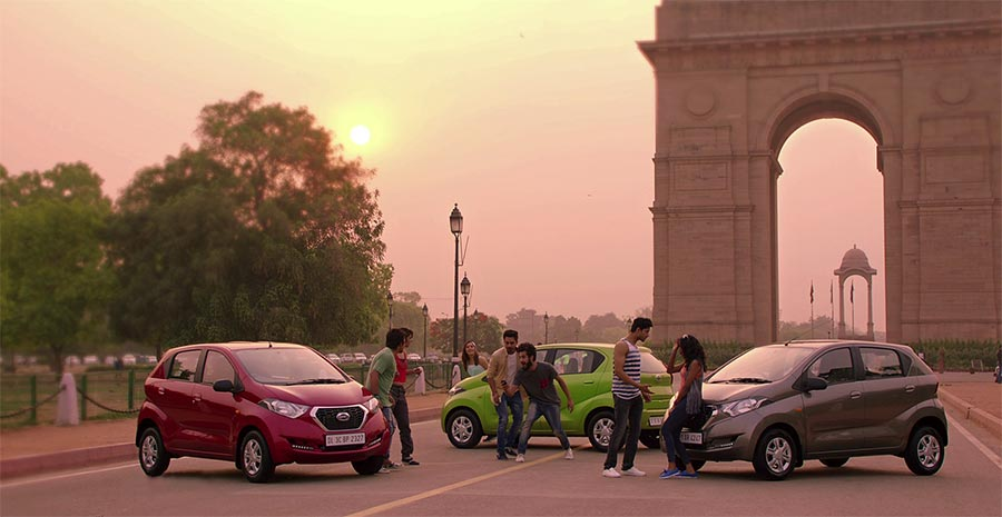 Datsun Redigo campaign in India 1