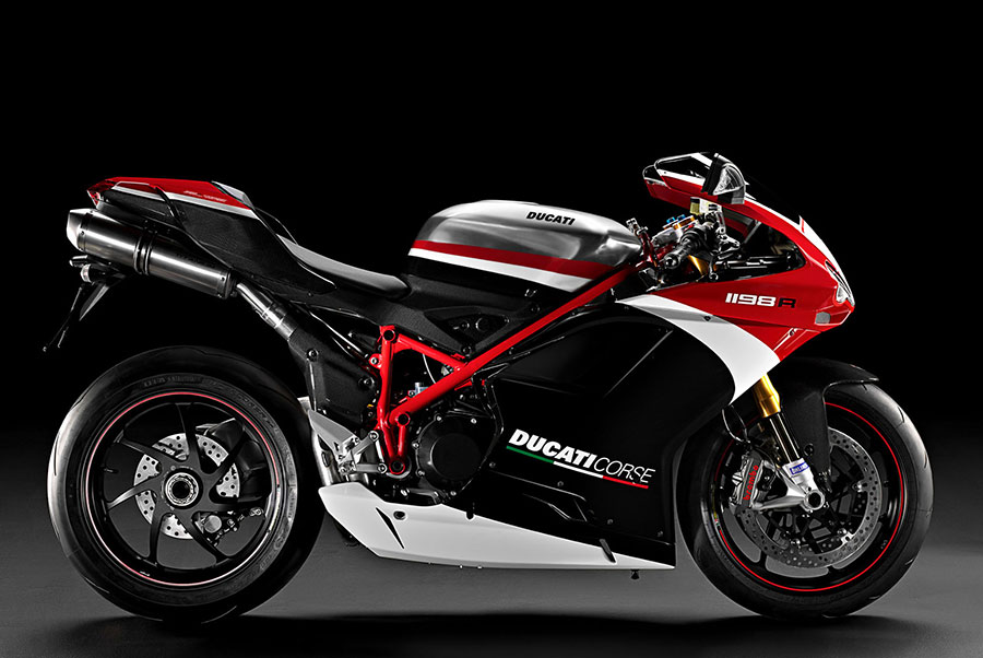 Ducati Corse Motorcycle in India
