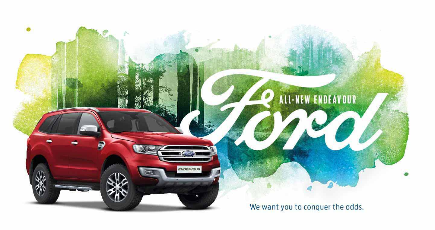 Ford Endeavour New Campaign
