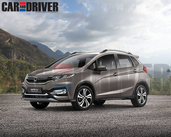 Honda WRV Photos in India