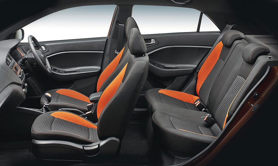 Hyundai i20 Active Seats and Interiors