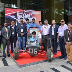 Mahindra associates with BAJA SAEINDIA 2017 as the Title Sponsor