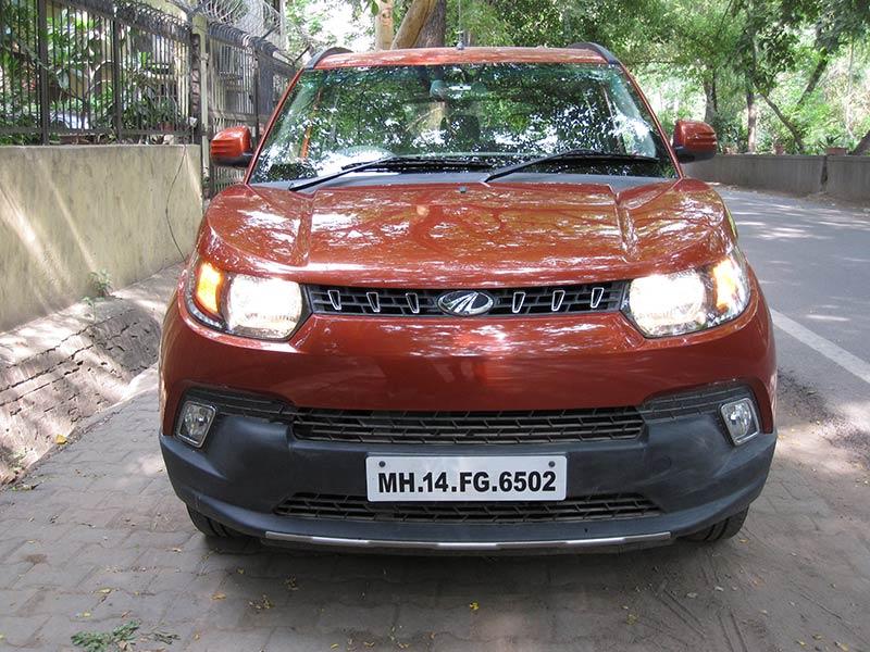 Mahindra-KUV100-Front-View