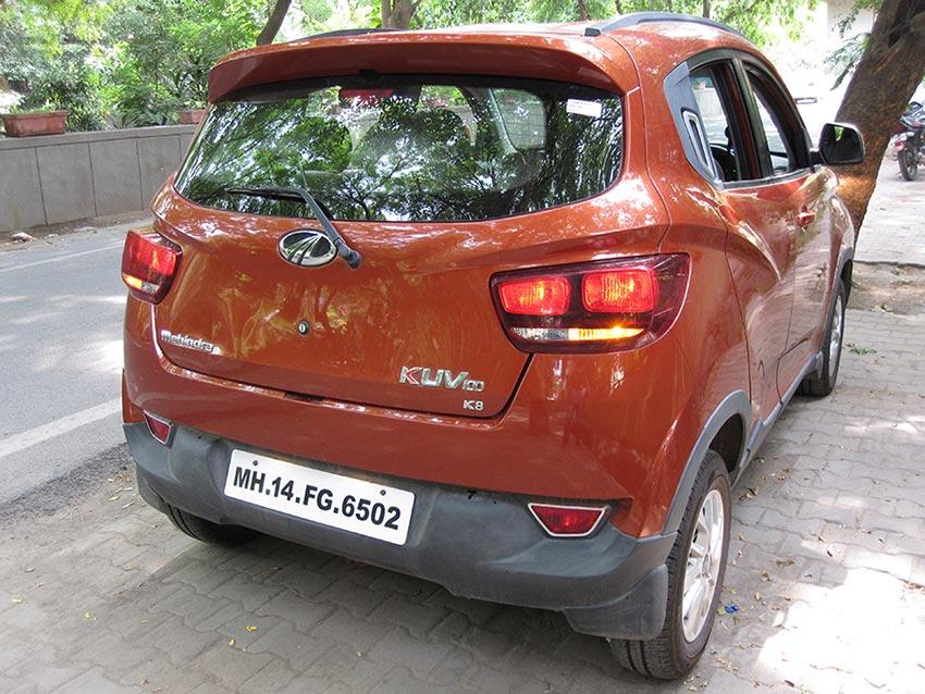 Mahindra KUV100 Rear