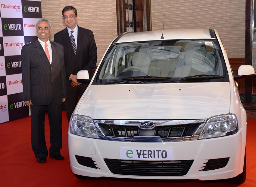 Mahindra eVerito launched